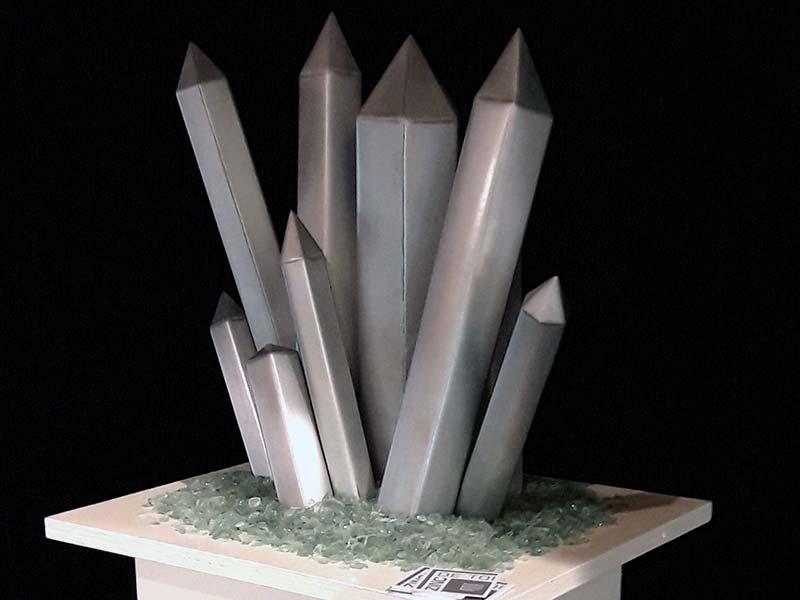 sculpture-zinc_cristallisations