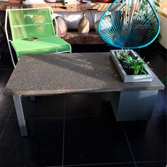 table-basse-plateau-calcaire-zinc