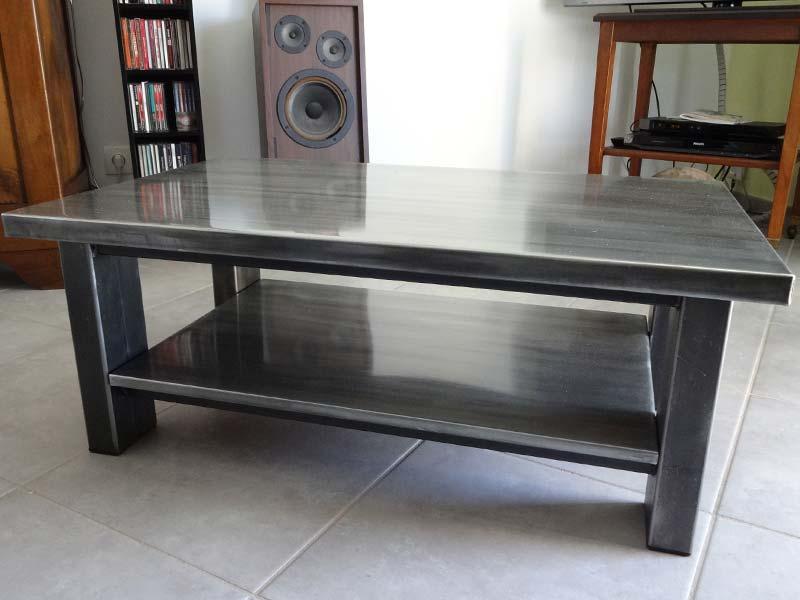 table-basse-zinc