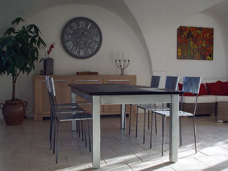 table-salle-manger-zinc